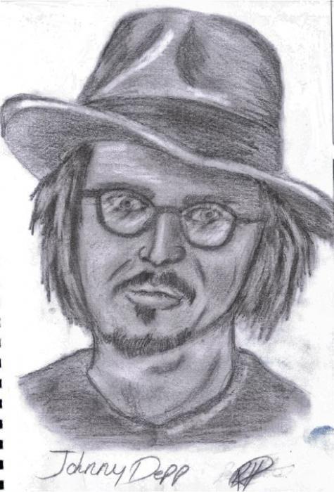 Johnny Depp by misshirsty